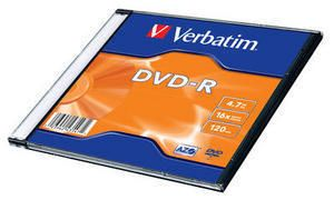 VERBATIM Dvd-R Azo 4.7Gb 16X Single Sc Matt Silver Surface (1) (43547*100)