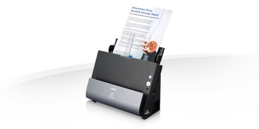 DR-C225W DOCUMENTSCANNER IN BOOK