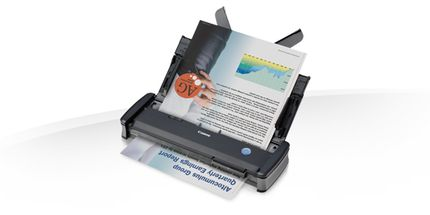CANON P-215II Document Scanner A4 600pdi Duplex 20sheet ADF 15ppm support Card scanning for Windows and Mac USB (9705B003)