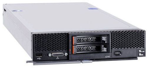 IBM Flex System x240 Compute Node. Xeon 10C E5-2660v2 95W 2.2GHz/ 1866MHZ/ 25MB. 8GB. O/Bay 2.5in SAS  (873754G)