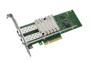 Ethernet Converged Network Adapter X520-DA2 - Nätverksadapter - PCI Express 2.0 x8 låg - 10 Gigabit LAN - 2 portar