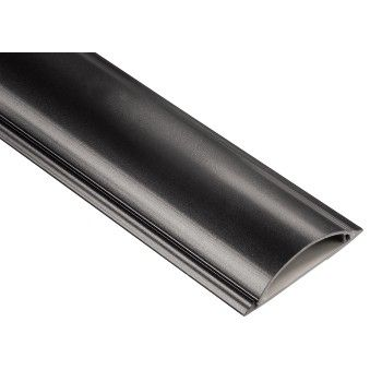 CABLE DUCT RD 90MM BLK/PB