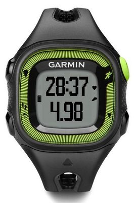 FORERUNNER 15 BLACK/ GREEN SMALL