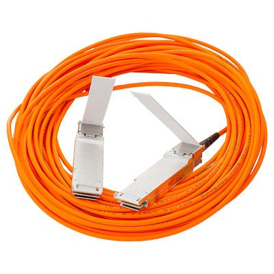 BladeSystem c-Class 40G QSFP+ to QSFP+ 10m Active Optical Cable