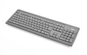 Keyboard KB410 USB Black IS