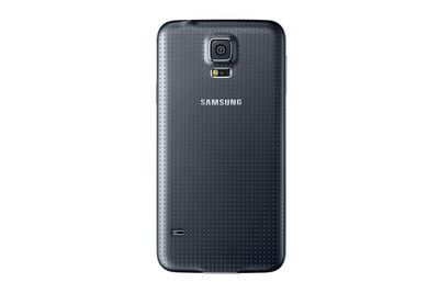 Back Cover Galaxy S5, Black Back Cover for Galaxy S5