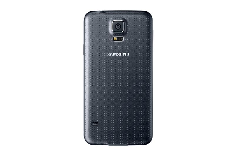 Samsung Back Cover Galaxy S5, Black Back Cover for Galaxy S5