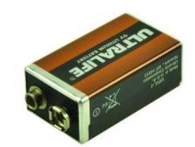2-POWER Ultralife 9v 1200mAh PP3 (U9VL-J)