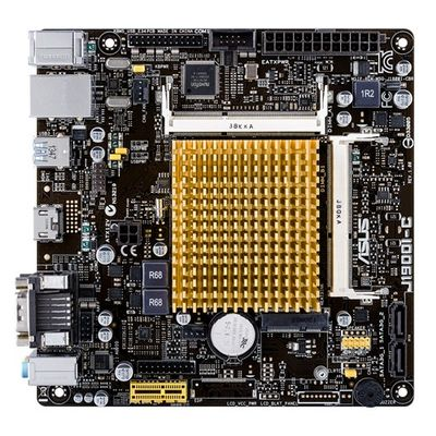 J1900I-C CELERON J1900 MITX VGA+SND+GLN+U3 SATA3GB/S SO-DDR3 IN