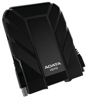 A-DATA External HDD DashDrive HD710 2TB USB3 Black, Waterproof & Shockproof (AHD710-2TU3-CBK)