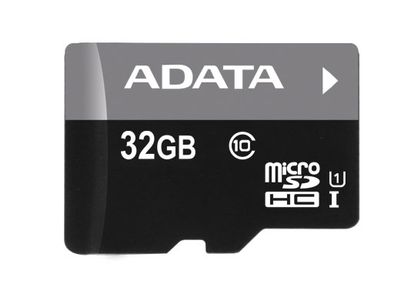 A-DATA Memory card Micro SDHC 32GB UHS-I + Micro Reader (AUSDH32GUICL10-RM3BKBL)