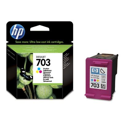 Cartridge HP 703 tri-colour | 4ml | DJ D730/F735