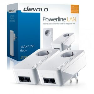 DEVOLO Poweline, dLAN 550 duo+ Starter Kit (9303)