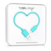 Micro-USB to USB Charge/ Sync Cable 2m -Turquoise