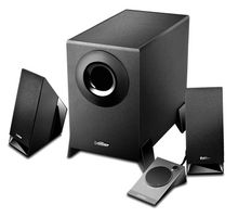 M1360 2.1ch black multimedia speakers