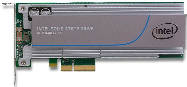 SSD DC P3600 SERIES 1.6TB 20NM 1/2HEIGHT PCIE3.0 MLC SINGLEPACK IN