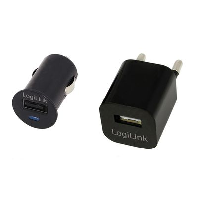USB Travel Charger Combo KIT