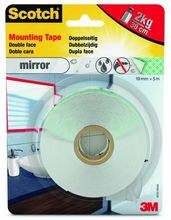 Scotch 40031950 Strong Mounting Tape 19mmx5,0m indoor