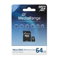 SD MicroSD Card 64GB SD CL.10 inkl. Adapter