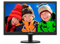 PHILIPS Monitor V-line 193V5LSB2/10,18.5'' wide LED, EPEAT Silver, ES 6.0