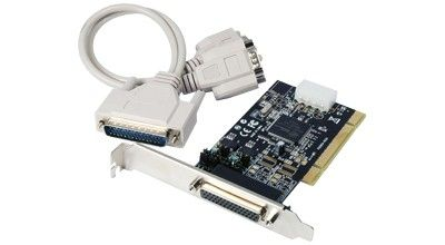 Controller PCI 2*Seriell powered (RS232C