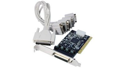LONGSHINE Controller PCI 4*Seriell powered (RS232C (LCS-6024P)