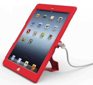 MACLOCKS iPad Air Security Bundle Red (IPAD AIR RB)