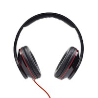 stereo headphones,  DETROIT, Mini Jack, black, 1.5m