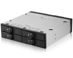 5.25IN MOBILE RACK 4X 2.5IN HDD/SSD BAYS ACCS