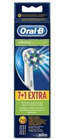 Oral-B Toothbrush heads Cross Action 7er + 1