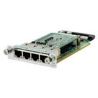Hewlett Packard Enterprise MSR 4-port Gig-T PoE Switch SIC Module (JG740A)