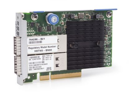 Hewlett Packard Enterprise InfiniBand QDR/ Ethernet 10Gb 2-port 544+FLR-QSFP Adapter (764286-B21)