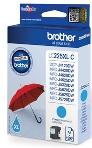 BROTHER LC225XLC ink cartridge cyan