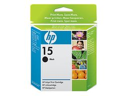 HP No.15 black ink cartridge (C6615DE§241)