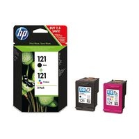 121 Black/ Tri-Colour Ink Cartridge