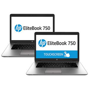 HP EliteBook 750 G1 bærbar