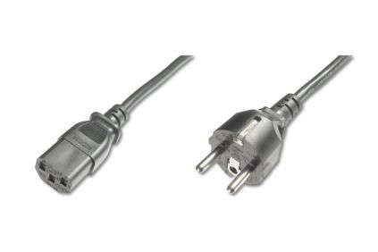 MAINS CONNECTION CABLE. SCHUKO GR CABL