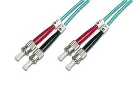 FIBER OPTIC PATCH CORD. ST-ST GR CABL