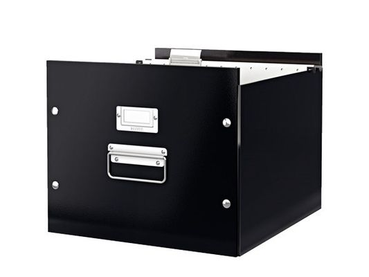 Storage box Click&Store Suspension black