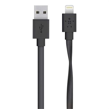 CABLE CHARGE SYNC LIGHTNING 1.2 M / BLACK ACCS