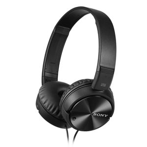 MDRZX110NAB.CE7 Headphone Black with mic and Noice cancelling