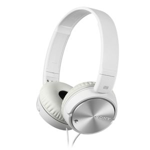 MDRZX110NAW.CE7 Headphone White with mic and Noice cancelling
