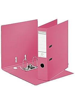 LEVER ARCH FILE SOLEA A4 PP/PP 75MM RED