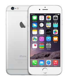 iPhone 6 16 GB - Mobiltelefon - Sølv