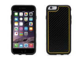 iPhone 6/6s Identity Graphite Black/ HiViz Yellow