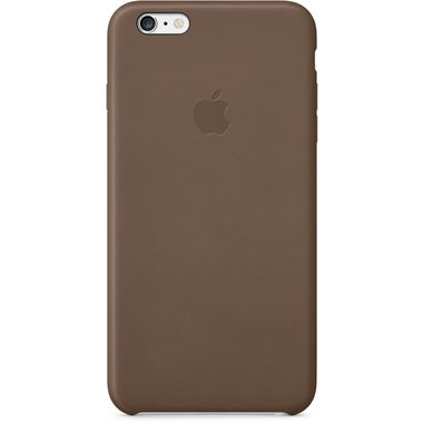 iPhone 6 Plus Leather Case Brown
