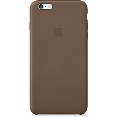 IPHONE 6 PLUS LEATHER CA (OLIVE BROWN)