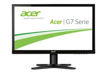 ACER G227HQLAbid 21,5 inch Wide 16:9 1920x1080 60Hz 6ms 250cd/m  LED IPS VGA DVI HDMI 2 Years Carry In (UM.WG7EE.A01)