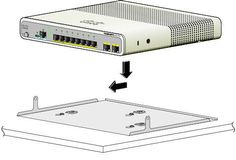 CISCO MAGNET AND MOUNTING TRAY