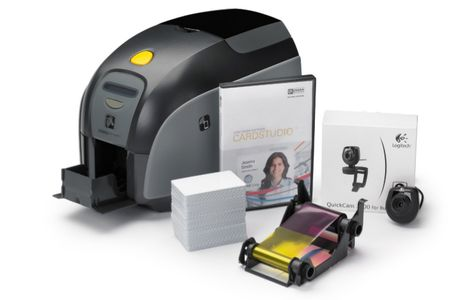 ZEBRA ZXP1 SINGLE SIDED, EU/UK CHORD USB, CARD STUDIO STD, CAMERA     IN PRNT (Z11-0000B000EM00)